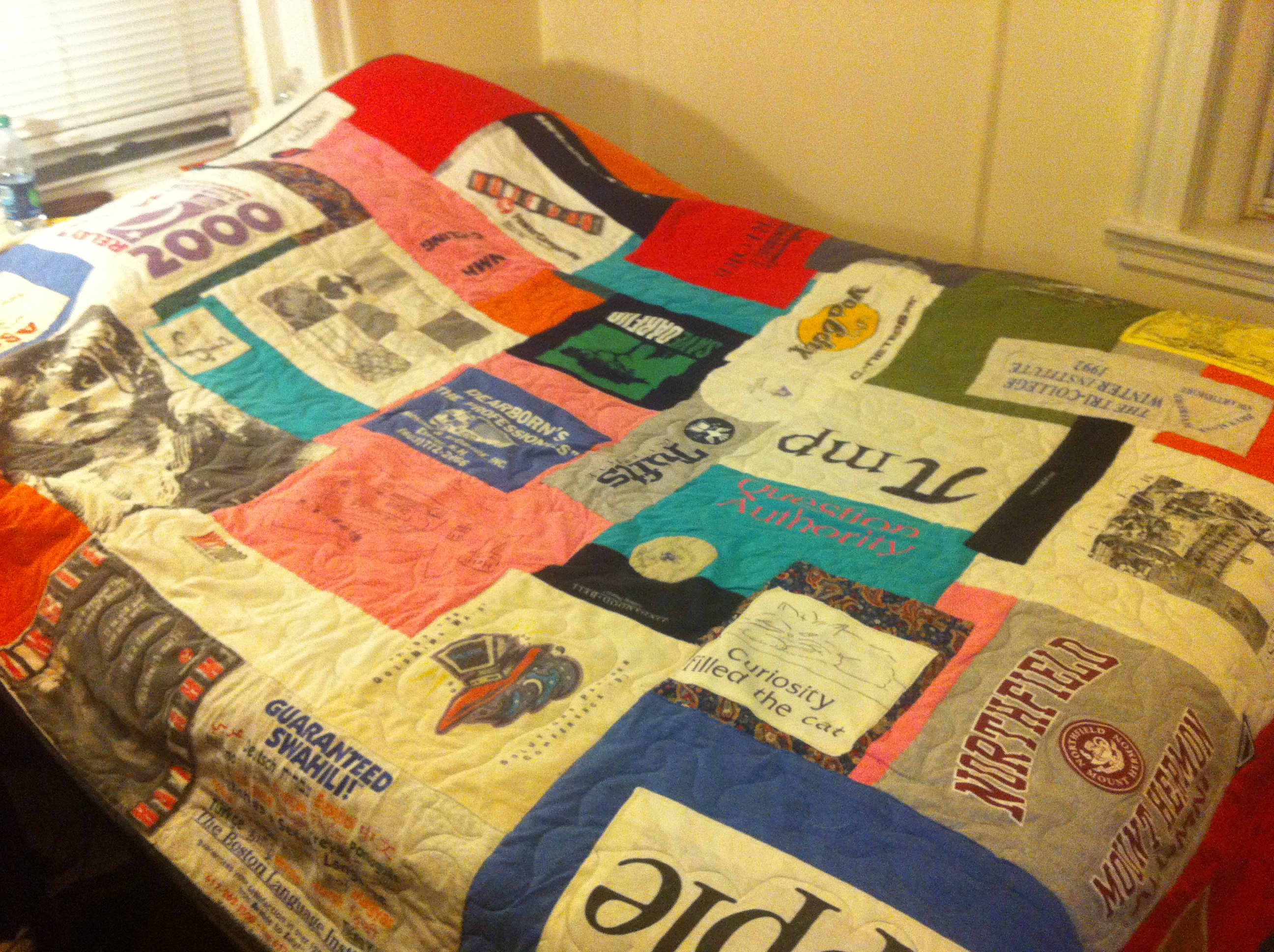 Happy Birthday | TMS Forum (The Mindbody Syndrome) : quilt made out of t shirts - Adamdwight.com