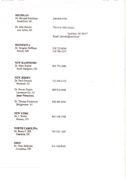 File:Dr. Sarno's List of TMS doctors p2.png